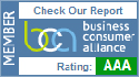 Member of Business Consumer Alliance